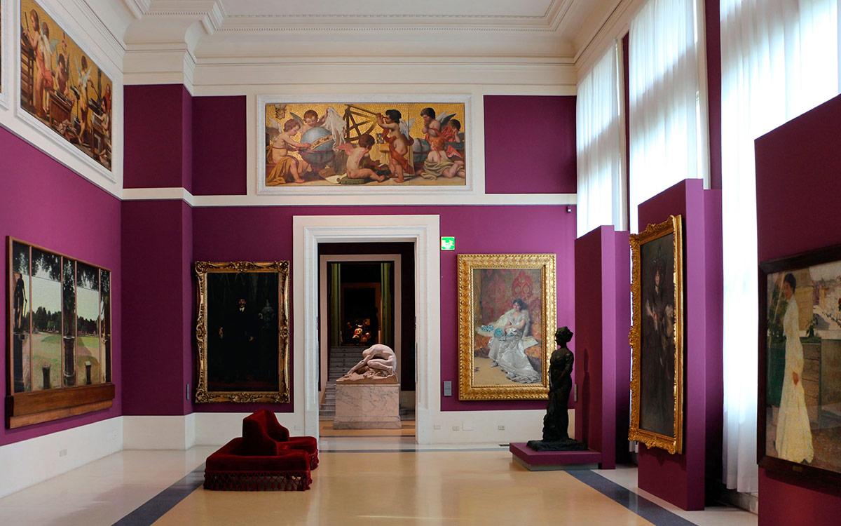 National Gallery Of Modern Art Suite Horti Sallustiani